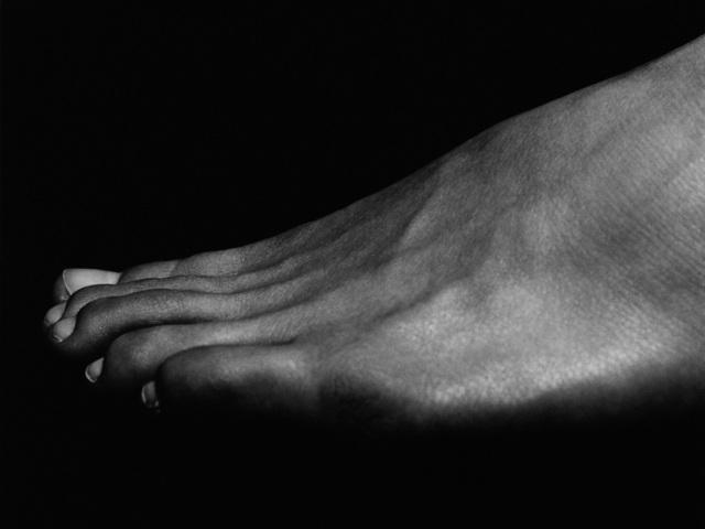, 'Foot Malibu,' 2000, Milk Gallery