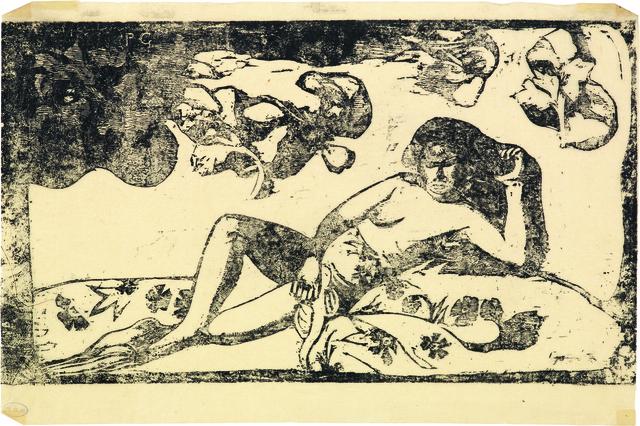 , 'Te Arii Vahine - Opoi | La femme aux mangos - Fatigué,' 1898, Bernard Jacobson Gallery