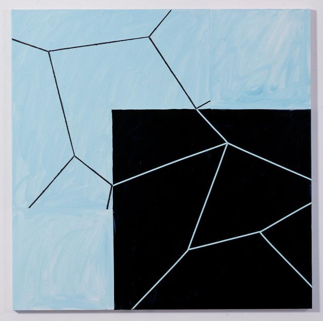 , 'Peter Young,' 1990, Galerie Isabella Czarnowska