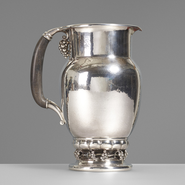 Georg Jensen, 'Pitcher, no. 407C', 1925, Wright