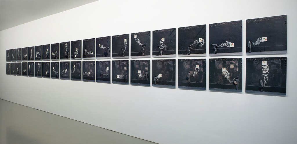 Installation view Robin Rhodes, Probables, 2011 at Galerie Fons Welters.