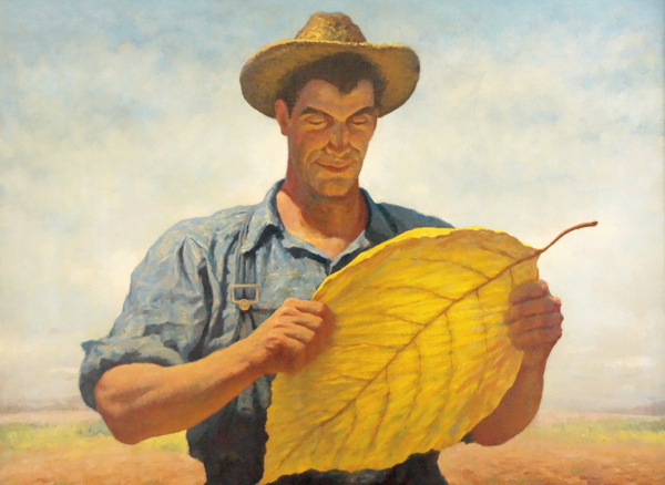 , 'Boy, That's Tobacco,,' 1942, Grey Art Gallery