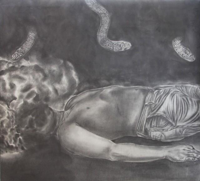 Jose Angel Santiago, 'EL RITUAL DE LA SERPIENTE', 2018, Galería Quetzalli