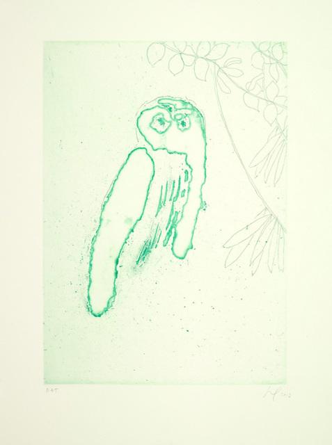 , 'Owl (Boscoe),' 2013, Galerie Maximillian