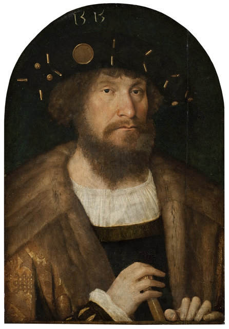 , 'Portait of the Danish King Christian II,' ca. 1514, Statens Museum for Kunst