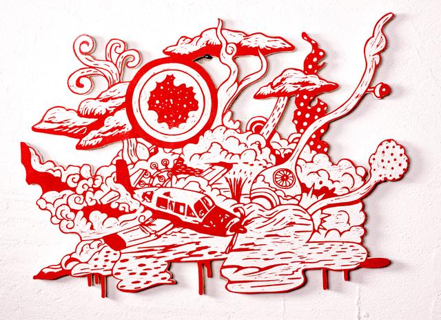 , 'Crash Explosion,' 2012, Micheko Galerie