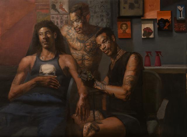 , 'Tattooist's Apprentice,' 2017, Bernarducci Gallery