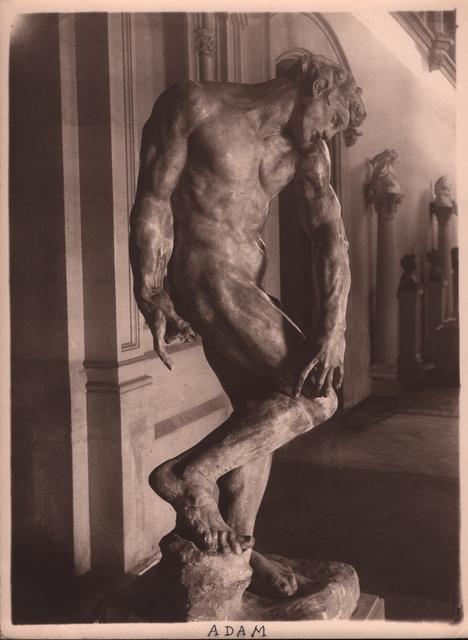 , 'Rodin's Adam,' ca. 1900, Grob Gallery
