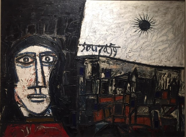 , 'Untitled (Landscape and Face),' 1959, Aicon Gallery