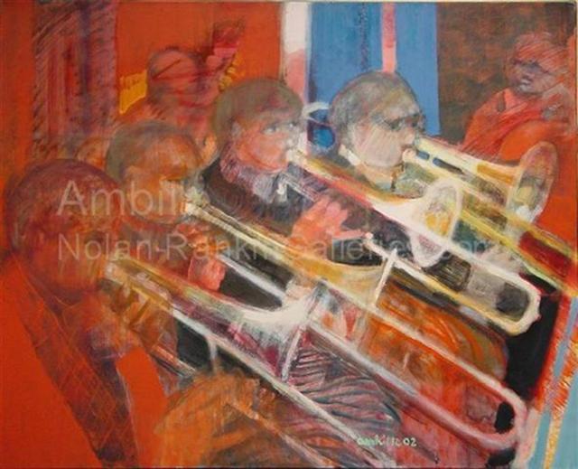 , 'Les Trombones,' 2002, Nolan-Rankin Galleries