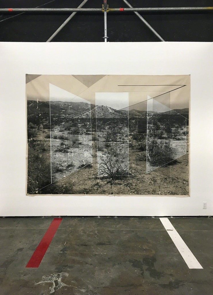 Sense of Place No. 32 by Rodrigo Valenzuela installed at Material Art Fair.