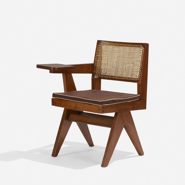 Pierre Jeanneret, 'Writing Chair from Chandigarh', c. 1960, Wright