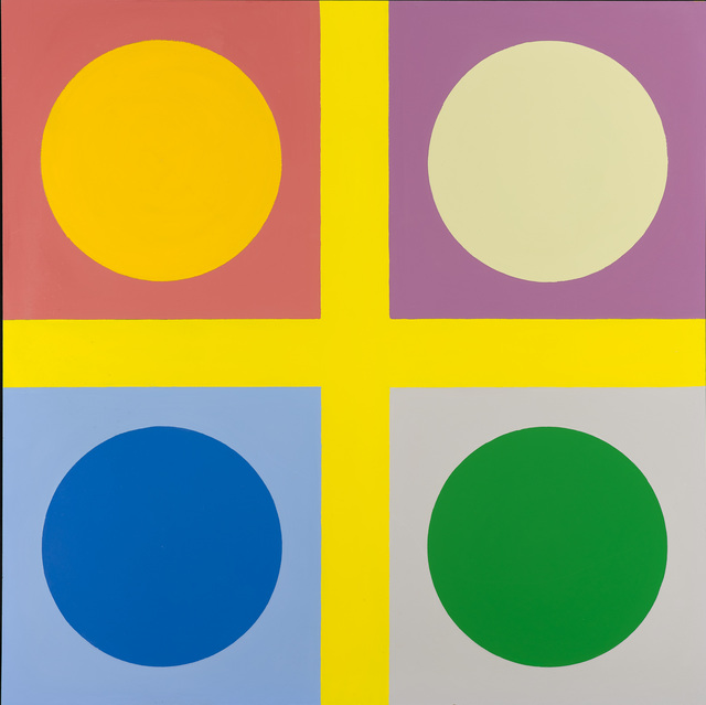 , 'Untitled ( tic tac toe painting),' 1966-1967, Galleri Bo Bjerggaard