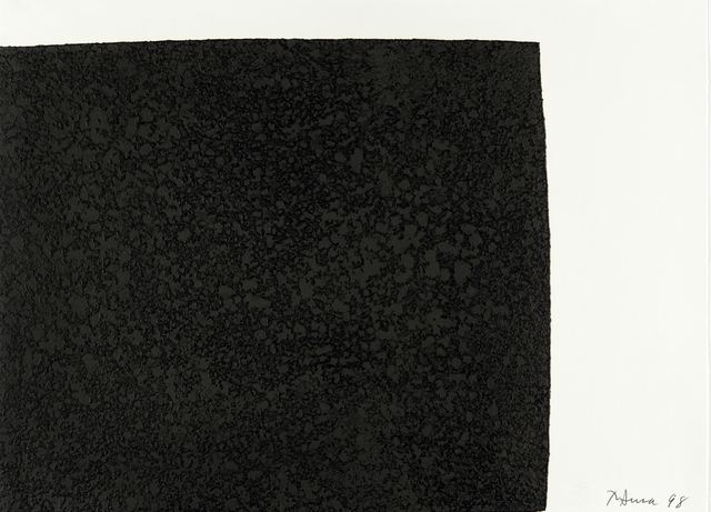 Richard Serra, 'Leo from the portfolio of Leo Castelli's 90th Birthday', 1997, Hamilton-Selway Fine Art