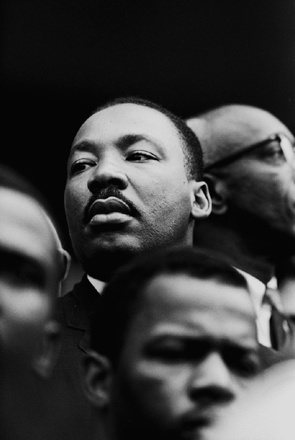 , 'Martin Luther King, Jr. Close-Up at Selma March,' 1965, Jackson Fine Art