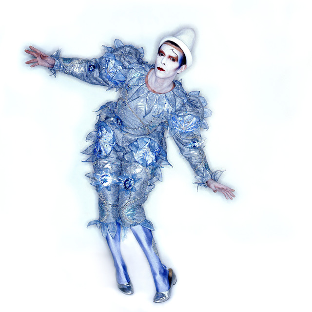 """David Bowie, 'Pierrot (or """"Blue Clown"""") costume. Designed by Natasha Korniloff for the """"Ashes to Ashes"""" video and Scary Monsters (and Super Creeps) album cover,' 1980, Art Gallery of Ontario (AGO)"""