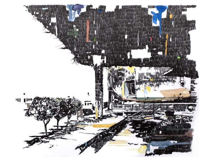 , 'Mémoire d'architecture, le songe de Beyrouth VI,' 2017, Gowen Contemporary
