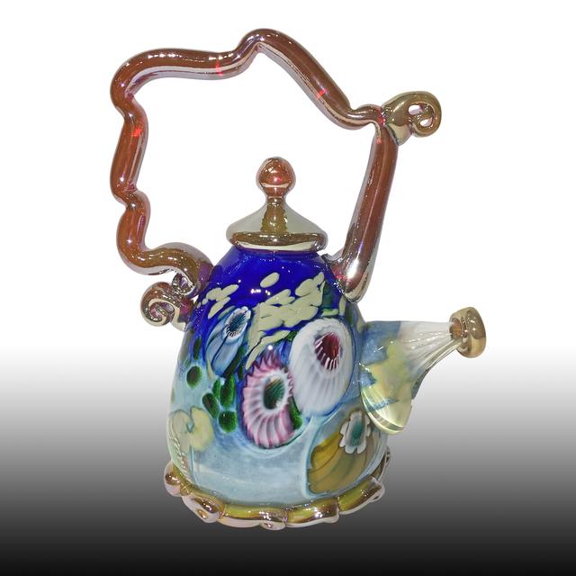 Paul Counts, 'Cobalt Jewel Tone Teapot ', 2018, Lotton Gallery