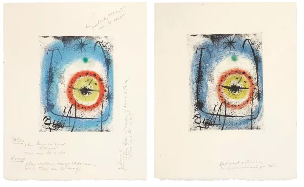 , 'Le Prophete: Three Impressions (two pictured),' 1958, Galerie Maximillian