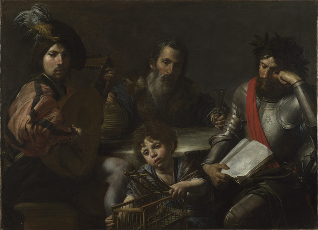 , 'The Four Ages of Man,' ca. 1629, The National Gallery, London