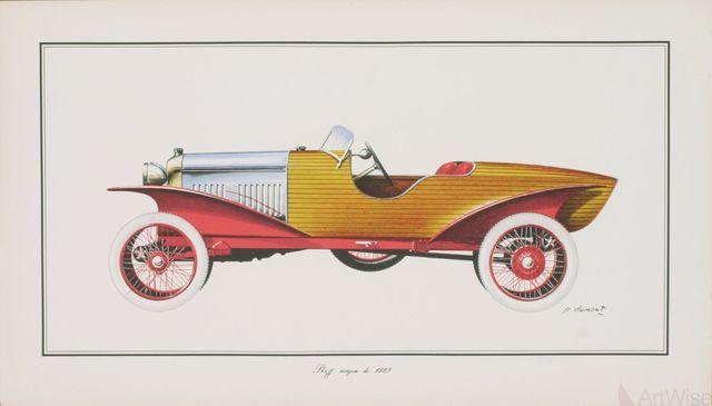 Dumont, 'Skiff Acajou 1923', (Date unknown), ArtWise
