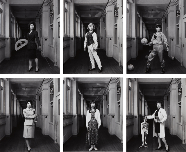 Yasumasa Morimura, 'Selected Images from School Teacher', 1996, Phillips