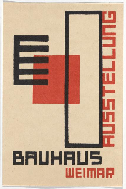 Kurt Schmidt, 'Bauhaus Postcard', 1923, Maison Particulière