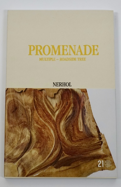 ", '""PROMENADE Multiple - Roadside Tree"" (2016, 1st Ed.) Art Book by Nerhol,' 2016, Art and More Gallery"