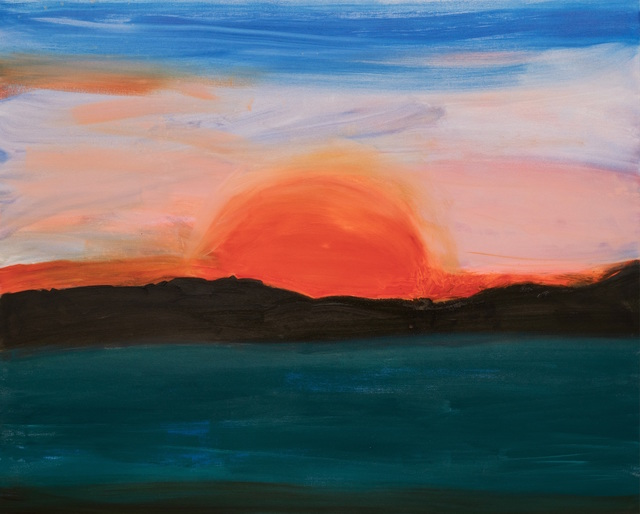 , 'apocalyptic sun,' 2017, Sears-Peyton Gallery