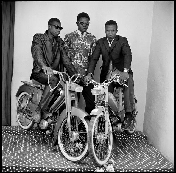 , 'Friends with moped,' 1975, Mariane Ibrahim Gallery