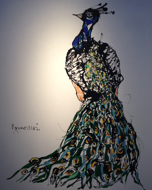 , 'Peacock,' 2013, Heis Gallery