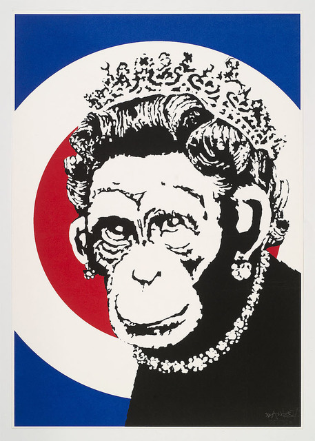 Banksy, 'Monkey Queen', 2003, Artificial Gallery