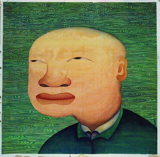 Zhu Wei, '隔江山色之二; Hills Beyond a River, No. 2', 2012, Linda Gallery