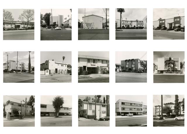 Mark Ruwedel, 'We all loved Ruscha, 15 Apts,' 2012, Yossi Milo Gallery