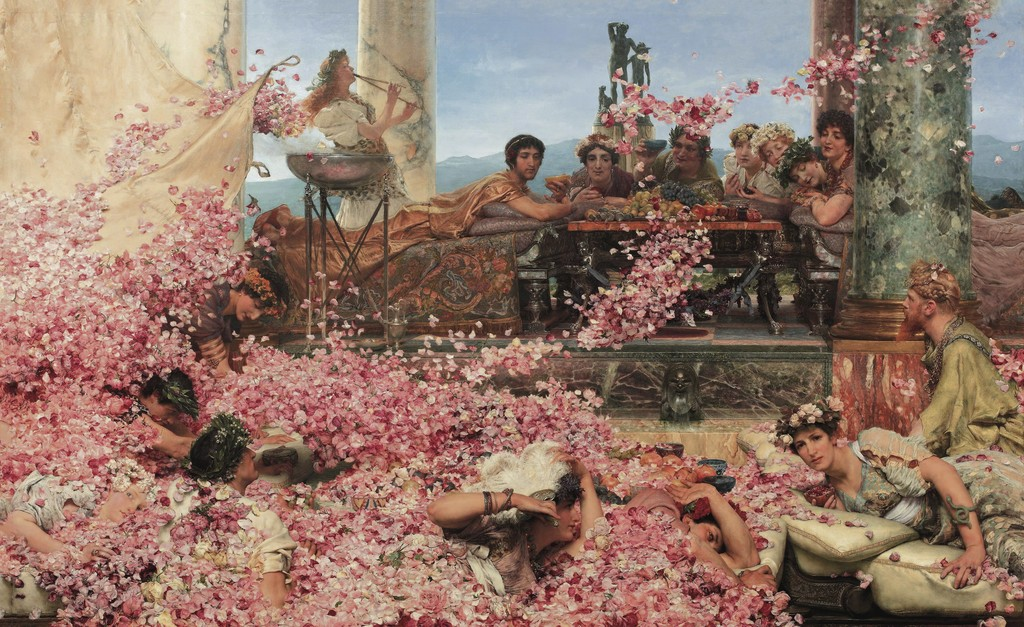 Lawrence Alma-Tadema, The Roses of Heliogabalus, 1888, Colección Pérez Simón, Mexico, Photo: © Piera, Arturo