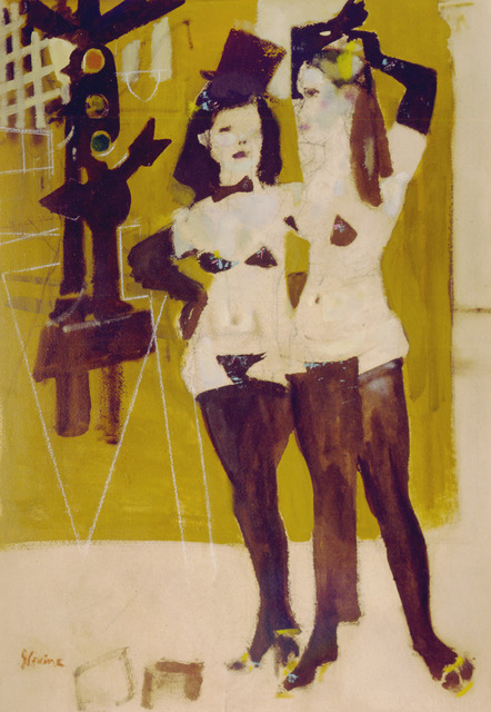 , 'Girls From Fleugel Street (Study),' 1958, ACA Galleries