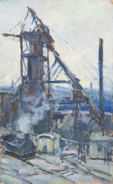 , 'Mining,' 1926-1933, American Federation of Arts