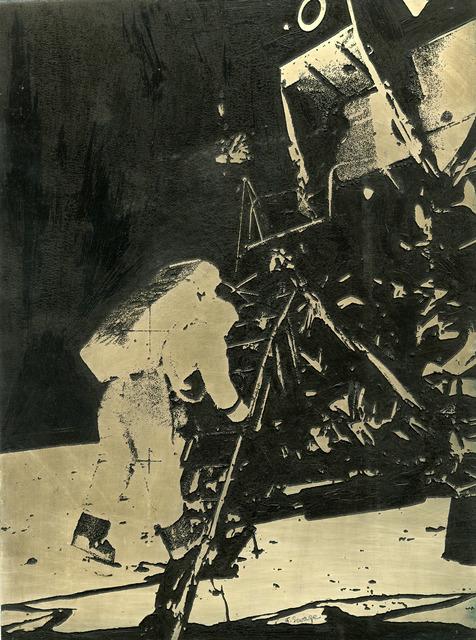 Naomi Savage, 'Aldrin Descending on the Moon-Apollo XI', 1969, Thomas French Fine Art