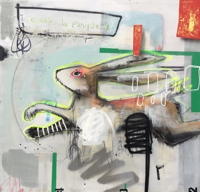 , 'C'est la Panique,' 2017, Galerie LeRoyer