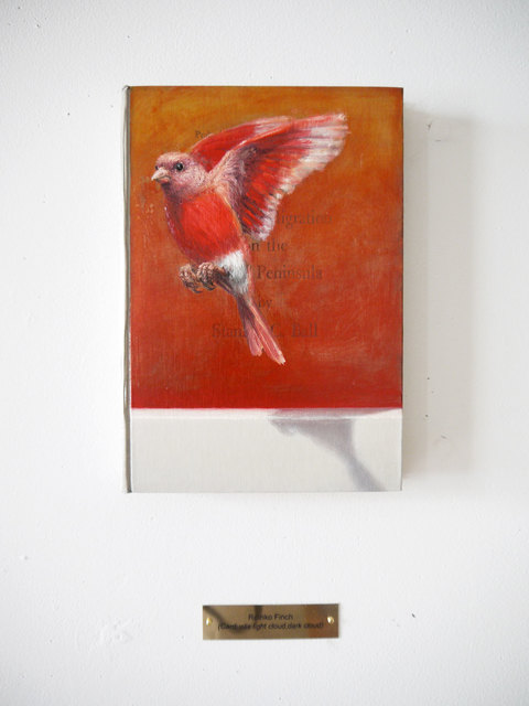 Clive Smith, 'Rothko Finch (Carduelis light cloud, dark cloud)', 2015, Marc Straus