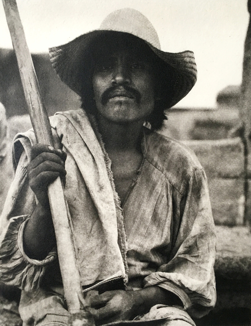 Paul Strand, 'Man with a Ho // Los Remedios', 1933, Photography, Photogravure, PDNB Gallery