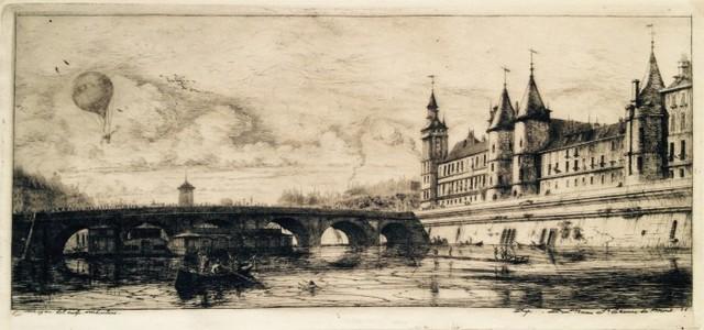, 'Le Pont au Change,' 1854, Harris Schrank Fine Prints