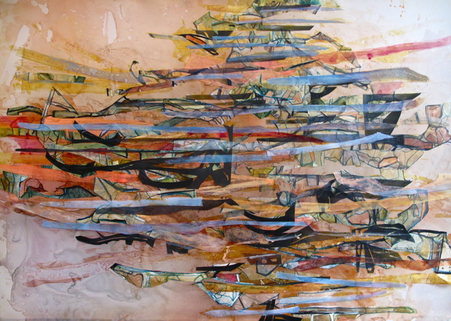 , 'Shutter II,' 2012, Julia Colavita
