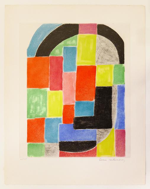 Sonia Delaunay, 'Composition with Black Arch', ca. 1970, Nikola Rukaj Gallery