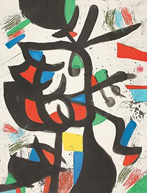 Joan Miró, 'La marchande de couleurs (Die Farbenhändlerin)', 1981, Galerie Boisseree
