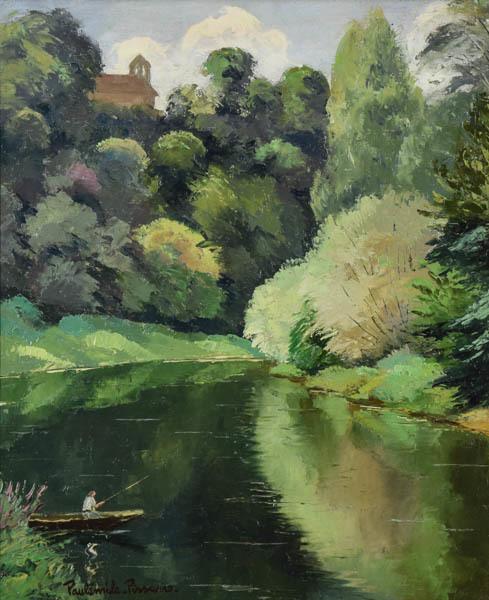 , 'Pecheur Sur Un Lac,' 1930, Galerie d'Orsay
