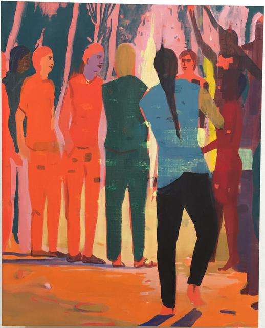, 'Dancing with fire,' 2015, Monica De Cardenas