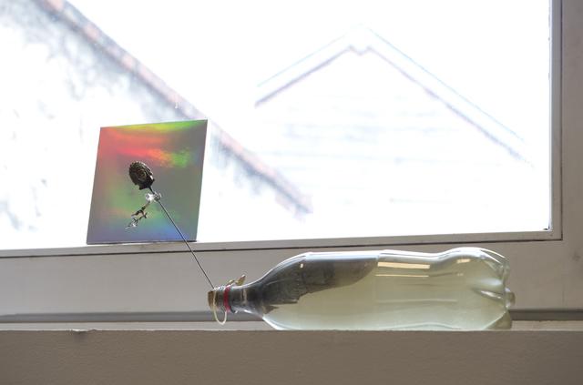 , 'Fenêtre. Je me sens trou noir, aspirant la moindre étincelle (...),' 2014, Dohyang Lee