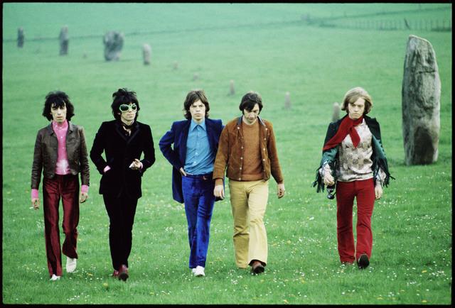 , 'Rolling Stones, Avebury Hill,' 1968, Padiglione d'Arte Contemporanea (PAC)