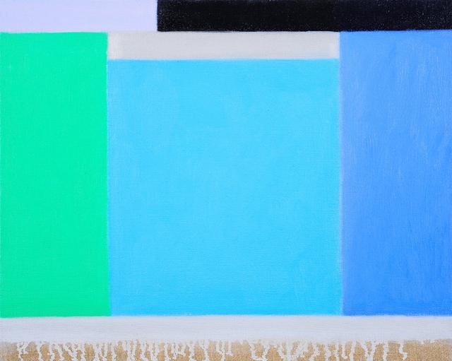 , 'Light Over Water, Port Melbourne,' 2017, Charles Nodrum Gallery